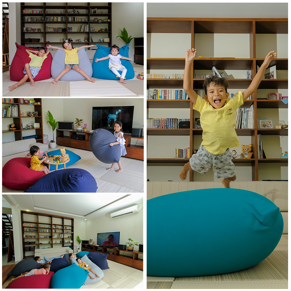 Indoor Flexible Beans Bag di Indonesia