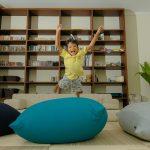 Indoor Flexible Beans Bag di Indonesia